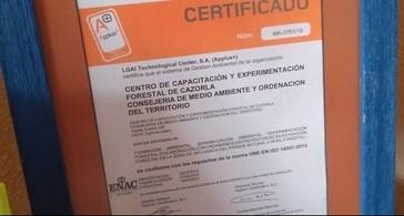 Enseñando los certificados